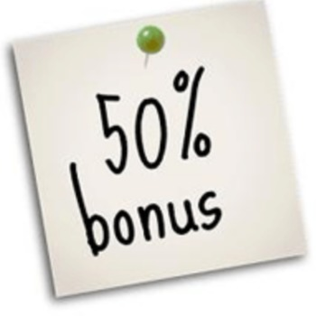 50% free spins w Crystal Queen i bonus 50% w Fortune Clock