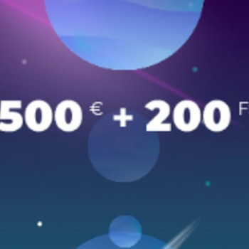 Bonus na start 100% do 2000zł+ 200 free spins w Alf