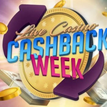 Odbierz swój cash back 15 % z live casino w 7Signs