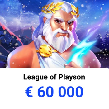 Pula 60 000€  w zmaganiach League of Playson w Slottica